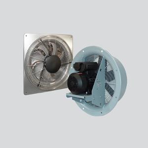 plate mounted axialis-ventilatorok